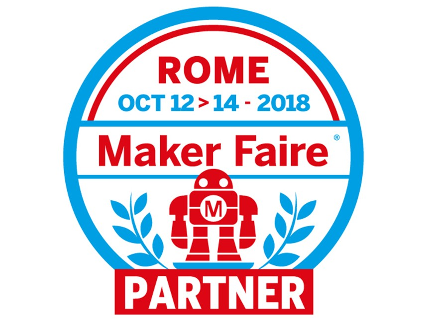 MAKER FAIRE 2018 - ROME 12-14 October 2018 - Hall.8